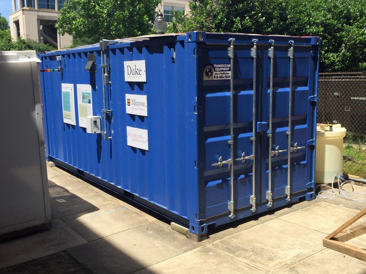 Container on Duke Campus